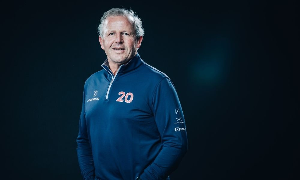 Sean Fitzpatrick, Chairman of the Laureus World Sports Academy, at the 2020 Laureus Awards in Berlin.