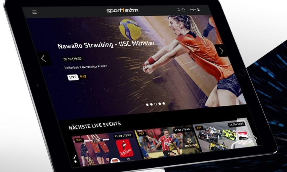 Sport1 Extra is the new streaming service from the German FTA network